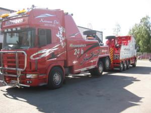 Scania raskaankaluston hinausauto